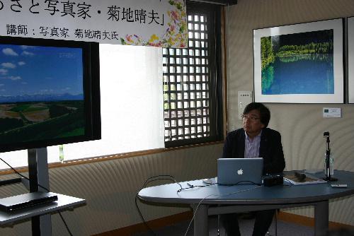 大盛況 70名のフォトトーク「ふるさとの写真家 菊池晴夫」の参加者