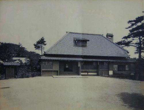 移築前の臨雲文庫の前身 新子安別邸は清水建設が建築