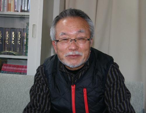 石の工芸作家 高橋朗氏が来館 /