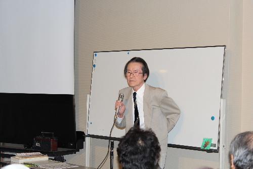 NHKテレビ小説「いちばん星」の原作者結城亮一氏 文化講座で講演