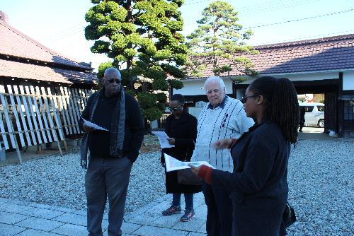 バルバドスオリンピック協会役員が記念館を訪問