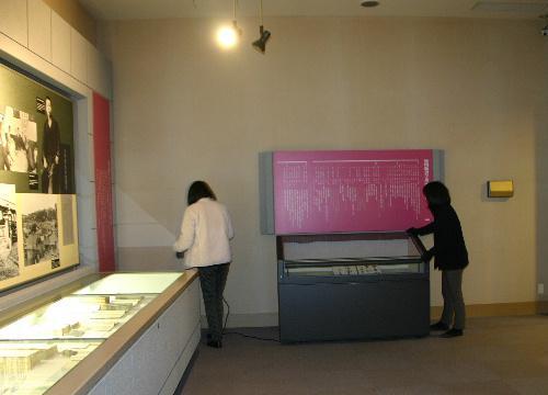 いよいよ明日から正常業務 空調設備工事が終了 暖かい展示室で見学できます