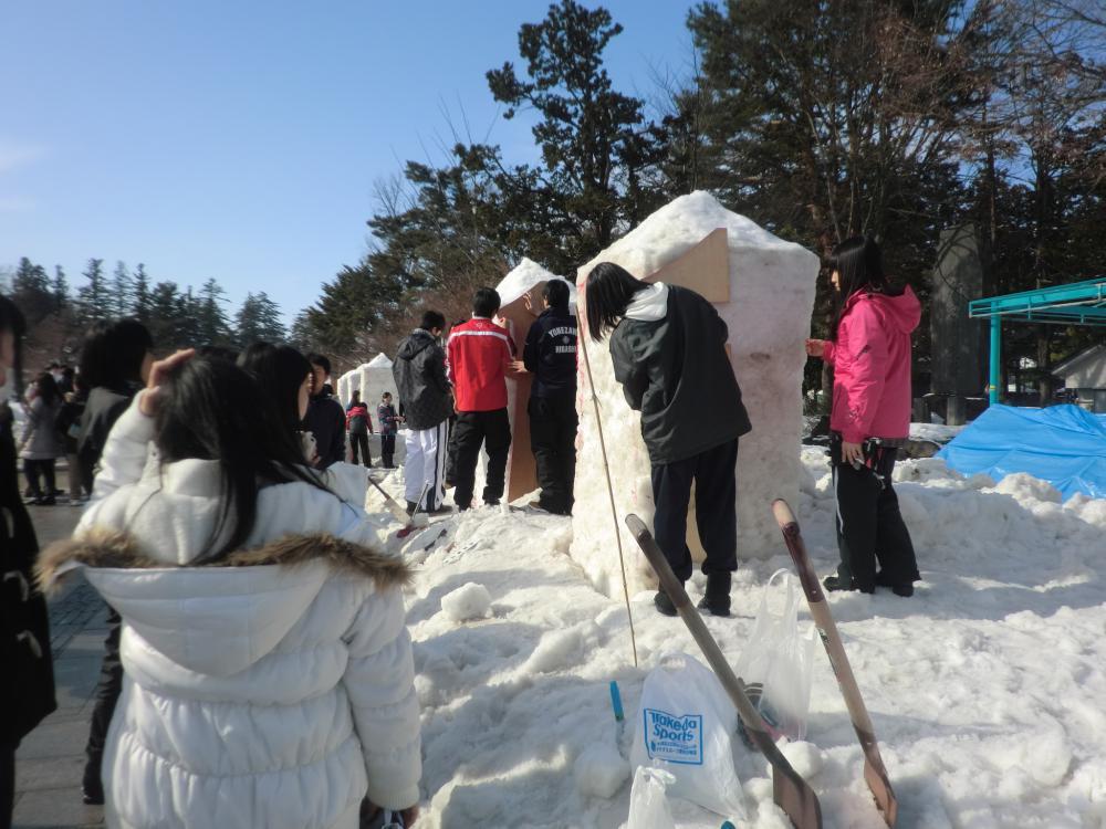 第41回上杉雪灯篭まつり 雪灯篭製作団体募集!【平成29年12月15日まで】:画像