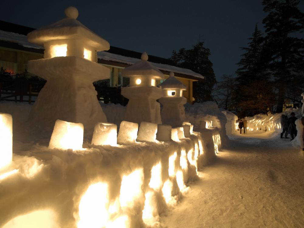 【エフエムNCV】 上杉雪灯篭まつり生放送のおしらせ:画像