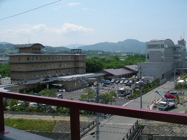 喜三郎やウェルハートピアが見えます。