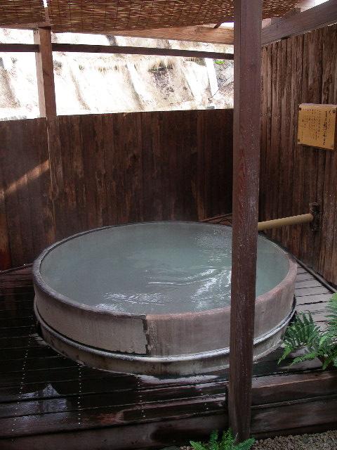 深山荘高見屋~露天桶風呂「長寿の湯」