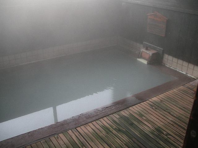 源泉風呂の全景